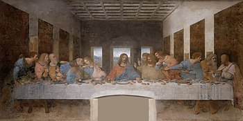 The Last Supper Leonardo Da Vinci High Resolution size 32x16.jpg