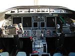 The Learjet 45 cockpit (2511598166).jpg