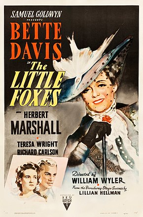 Description de l'image The Little Foxes (1941 poster).jpg.