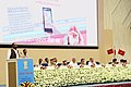The Minister of State for Home Affairs, Shri Hansraj Gangaram Ahir addressing at a function to operationalise the New Intelligence Set-up of the Sashastra Seema Bal (SSB), in New Delhi on September 18, 2017.jpg