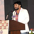 The Minister of State for Urban Development, Housing and Urban Poverty Alleviation, Shri Babul Supriyo addressing at the release of the Highlights of MCC Chamber of Commerce & Industry for the year 2014-15, in Kolkata.jpg