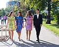 The President's family on the 27th anniversary of Ukraine's Independence - 2018.jpg
