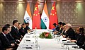 The Prime Minister, Shri Narendra Modi in a bilateral meeting with the President of China, Xi Jinping, on the sidelines of the BRICS Summit, in Johannesburg, South Africa on July 26, 2018 (1).JPG
