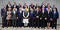 The Prime Minister, Shri Narendra Modi in a group photograph with the Members of European Parliament, at 7, Lok Kalyan Marg, New Delhi on October 28, 2019.jpg