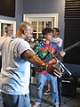 The Revealers at radio WWOZ New Orleans October 2009 42.jpg