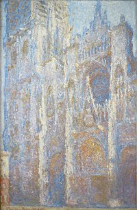 The Rouen Cathedral at Noon by Claude Monet, 1894, Pushkin Museum.JPG