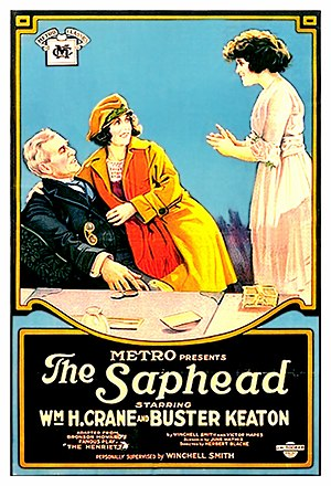 The Saphead - Film poster