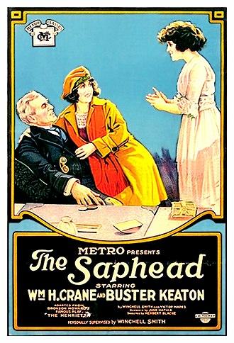 John Golden - Poster for The Saphead