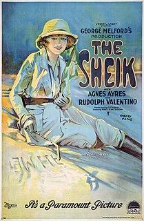 <i>The Sheik</i> (film) 1921 film by George Melford