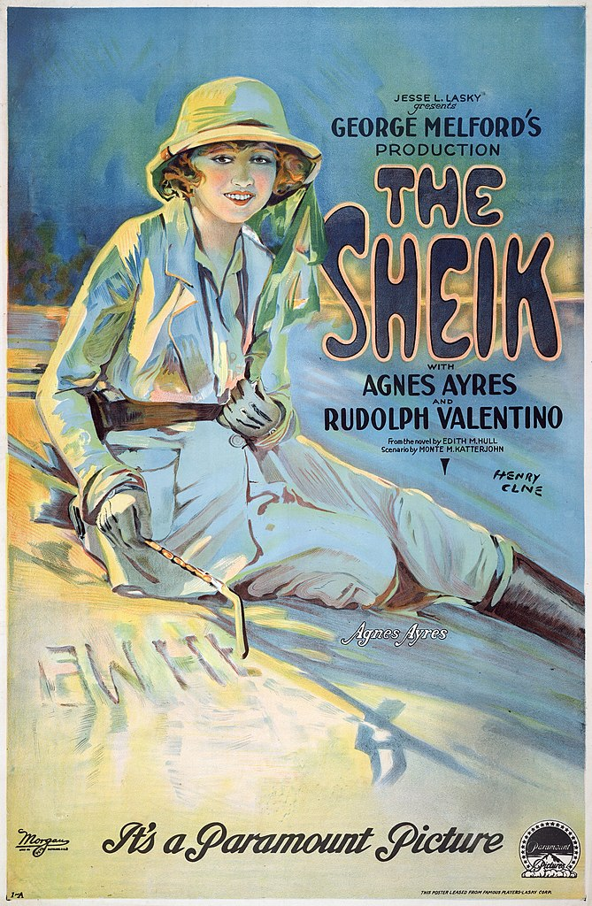 File The Sheik With Agnes Ayres And Rudolph Valentino