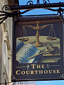 The Sign for the Courthouse - geograph.org.uk - 313867.jpg
