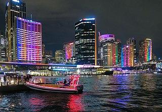 Vivid Sydney recurring light art exhibition in Sydney, New South Wales, Australia