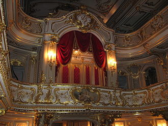 Moika Palace - The palatial theatre