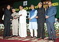 The Vice President, Shri M. Venkaiah Naidu presenting the awards to the Officer Trainees of Indian Forest Service, at the Convocation 2018 of Indira Gandhi National Forest Academy, in Dehradun, Uttarakhand.JPG