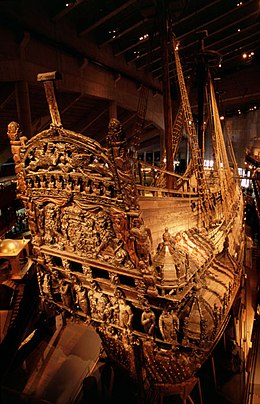 The Vasa is one of the oldest and most well-preserved ships salvaged in the world, due to the low salinity of the Baltic Sea