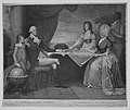 The Washington Family- George Washington, His Lady, and her Two Grandchildren by the Name of Custis–George Washington, Son Epouse, et Ses Deux petits Enfants du Nom de Custis MET MM4839.jpg