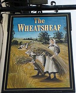 The Wheatsheaf pub sign - geograph.org.uk - 1036464