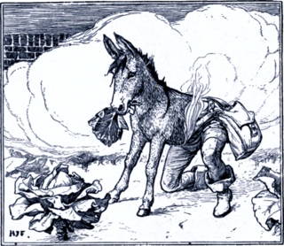 Donkey Cabbages German fairy tale