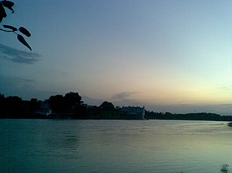 Jaunpur district - The banks of river Gomati in Jaunpur