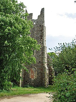 The church of St Peter and St Paul - the ruined tower - geograph.org.uk - 820655