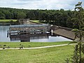 The dam at Cod Beck Reservoir - geograph.org.uk - 517145.jpg