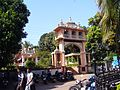 The entrance to the GaneshTemple and the temple proper in the background. At Farmagudi near Ponda , Goa. - panoramio.jpg