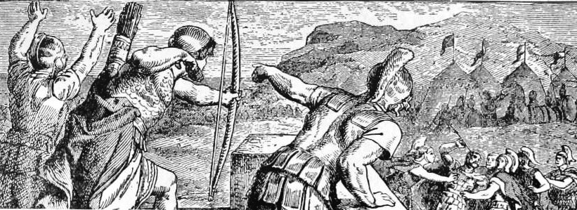 The wounding of Philip
