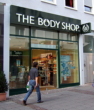 The Body Shop Geschäft in Darmstadt