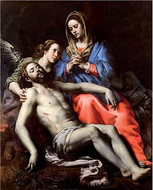 Basilica of Our Lady of Scherpenheuvel - The Lamentation of Christ by Theodoor van Loon