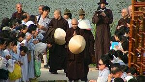 Thich Nhat Hanh in Vietnam, 2007