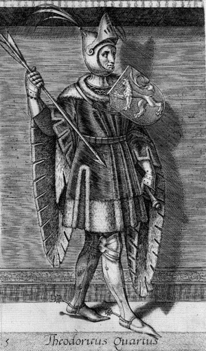 Dirk IV, Count of Holland - Dirk IV as imagined in the 16th century
