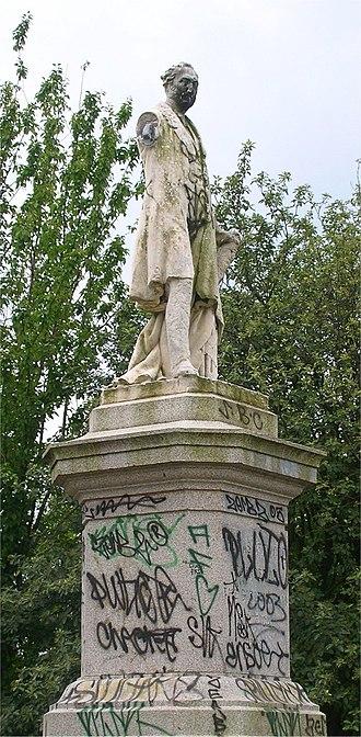 Thomas Attwood (economist) - Statue of Thomas Attwood in Highgate Park, Birmingham