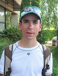 Thomas Bonnin, au soir de la seconde étape du Tour de l'Ain 2011.JPG