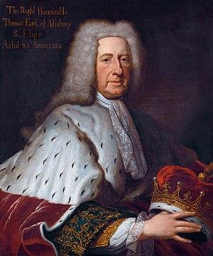 Thomas Bruce, 2nd Earl of Ailesbury - Thomas Bruce, 2nd Earl of Ailesbury and 3rd Earl of Elgin, by François Harrewijn, 1738