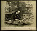 Thomas Henry Huxley. Reproduction of drawing by T. B. Wirgma Wellcome V0003007.jpg