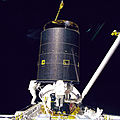 Three Crew Members Capture Intelsat VI (9458306767).jpg