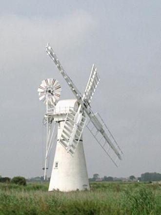 Thurne - Image: Thurne Dyke Wind Pump