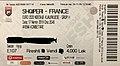 Ticket football match Albania vs France 17nov2019.jpg