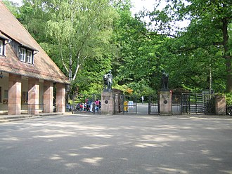 Nuremberg Zoo - Zoo entrance
