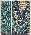 Tile from Damascus Syria, Ottoman, 17th-18th century, Honolulu Museum of Art III.jpg