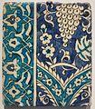 Tile from Damascus Syria, Ottoman, 17th-18th century, Honolulu Museum of Art III.jpg