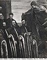 Tintoretto - Santa Giustina con tre camerlenghi e tre segretari, 1580, Museo Correr,.jpg