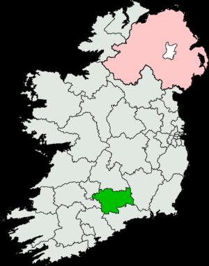 Tipperary South (Dáil Éireann constituency) - Image: Tipperary South (Dáil Éireann constituency)