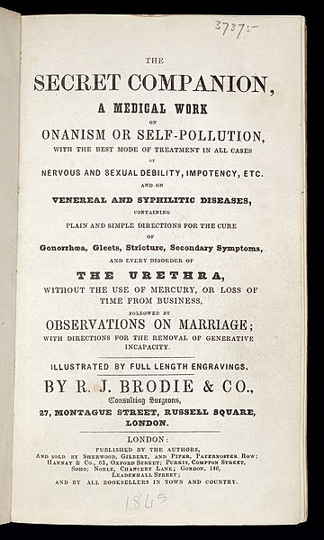 """File:Title page from """"The Secret Companion..."""" Wellcome L0034217.jpg"""