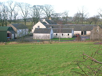 Adam Armour - Fanny Burnes, Adam's wife, may have been born at Titwood farm where her father lived for a number of years whilst working at the nearby Lochridge limestone quarry.