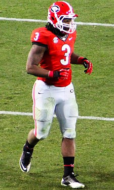 a8d8214c4 Gurley with the Georgia Bulldogs in 2013