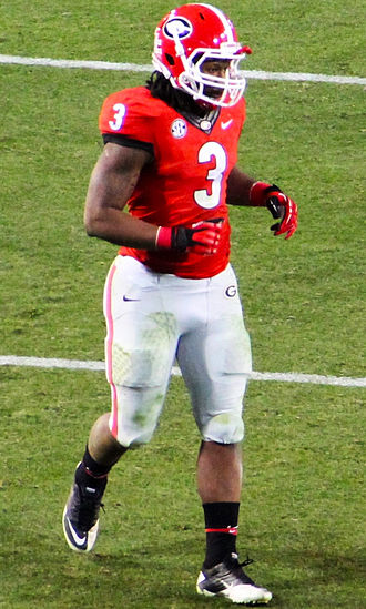 Todd Gurley - Gurley with the Georgia Bulldogs in 2013