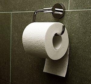 Toilet paper orientation - The under orientation
