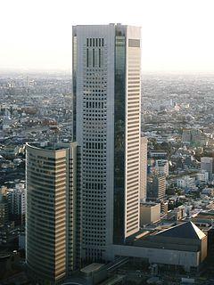 Tokyo Opera City Tower building in Shinjuku-ku, Tokyo, Japan