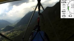 Податотека:Tolmin (Slovenia) 2012 hang-glider beginner flying.webm